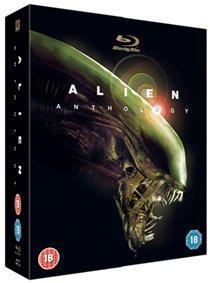 Alien anthology (alien 1-4 + directors cut, blu-ray), elokuva