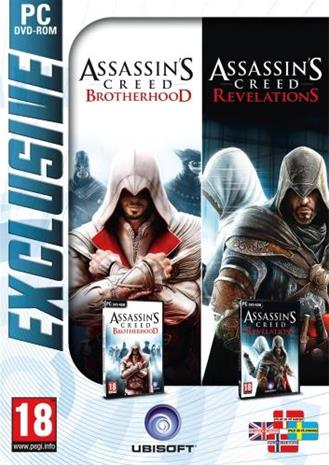 Assassin's Creed Revelations + Brotherhood, PC-peli