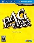 Persona 4: The Golden, PS Vita -peli