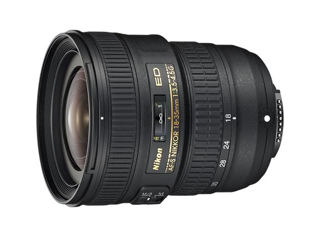 Nikon AF-S Nikkor 18-35mm f/3.5-4.5G ED, objektiivi