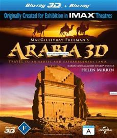 Arabia 3D (3D Blu-Ray), elokuva
