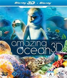 Amazing Ocean 3D (3D Blu-Ray + Blu-Ray, elokuva