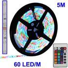Epoxy, vedenkestävä monivärinen led-valonauha 5 m, kaukosäätö