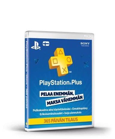 Playstation Network Plus Card, PSN-kortti 12 kk