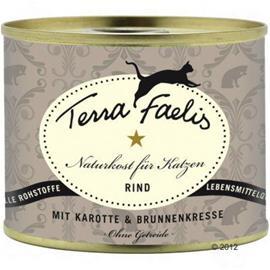 Terra Faelis Meat Menu 1 x 200 g - kana, kurpitsa & kissanminttu