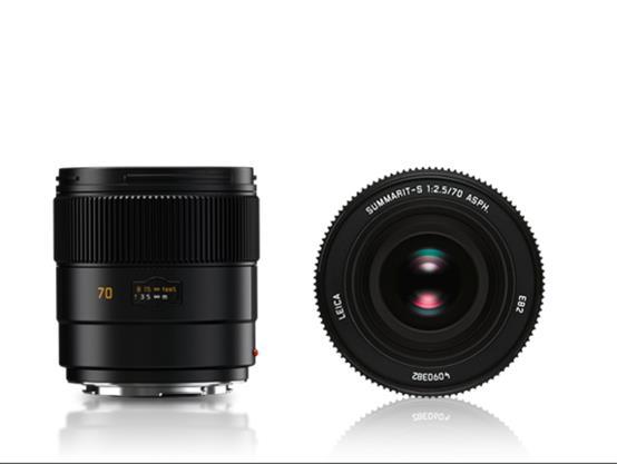 Leica Summarit-S 70 mm f/2.5 ASPH, objektiivi