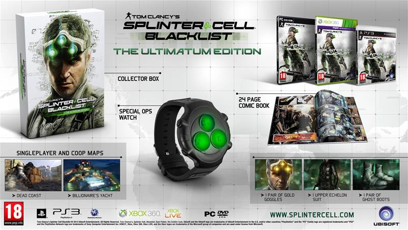 Tom Clancy's Splinter Cell: Blacklist - The Ultimatum Edition, PC-peli