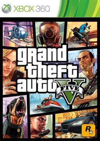 Grand Theft Auto V (GTA 5), Xbox 360 -peli