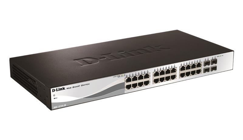 D-Link DGS-1210-28, 24-porttinen kytkin