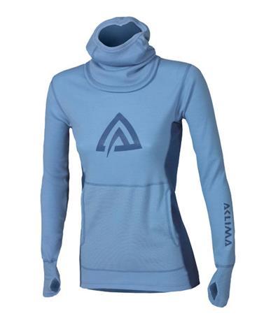 Aclima WarmWool Hood Sweater, naisten hupullinen paita