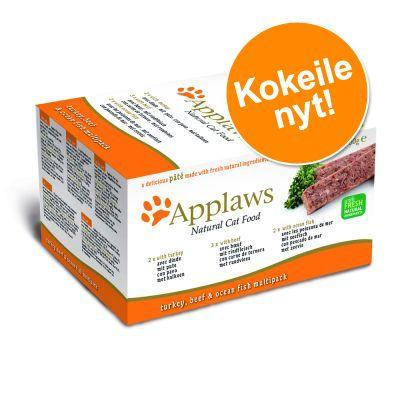Applaws Cat Pate' -lajitelma 7 x 100 g - Orange Selection