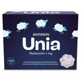 Bioteekin Unia, melatoniini 1 mg, 100 tabl.