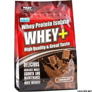 Fast Whey+, heraproteiinijauhe 600 g