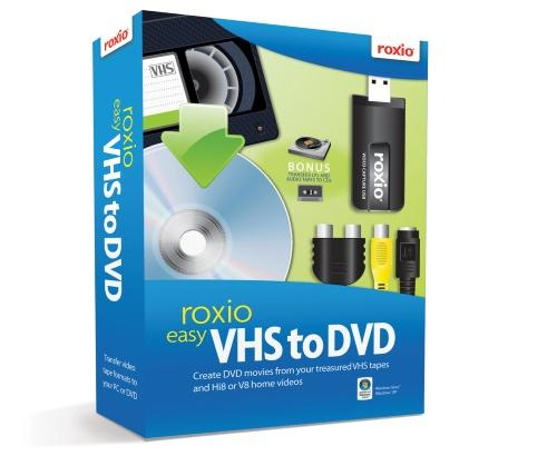 Roxio Easy VHS to DVD, Mac