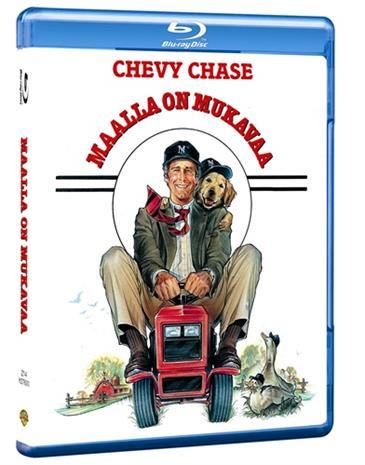 Maalla on mukavaa (Funny Farm, Blu-ray), elokuva