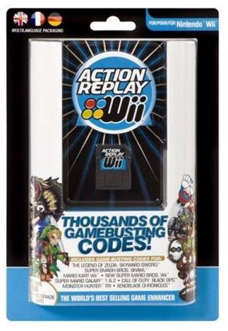 Action Replay, Nintendo Wii -peli