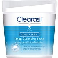 Clearasil Daily Clear Deep Cleansing Pads - 65st/paket