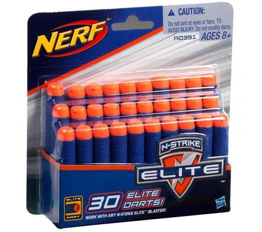 Nerf N-Strike Elite, lisäammukset 30 kpl