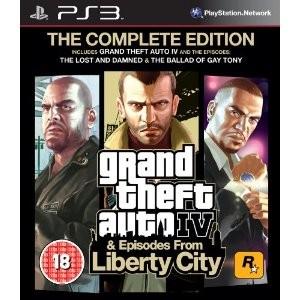 Grand Theft Auto IV - GTA 4 Complete Edition, PS3-peli