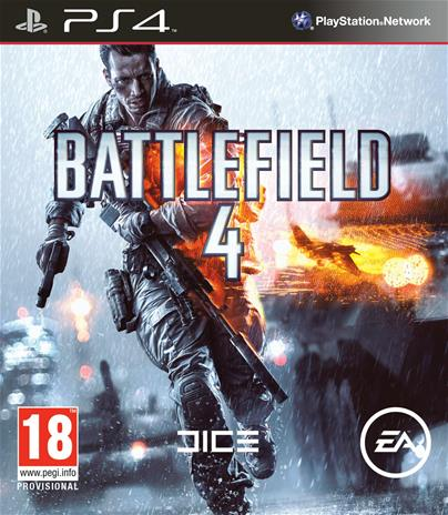 Battlefield 4, PS4-peli
