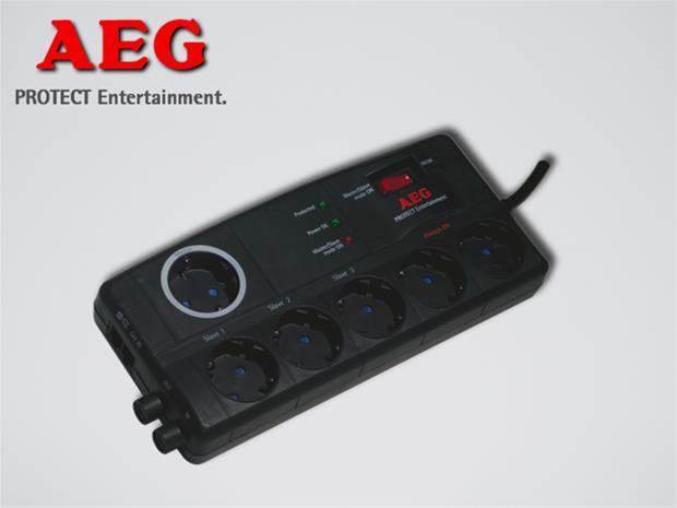 AEG protect entertainment, ylijännitesuoja