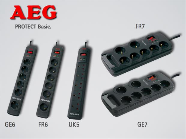 AEG protect basic GE6, ylijännitesuoja