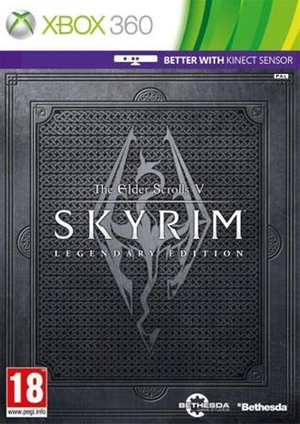 The Elder Scrolls V (5): Skyrim: Legendary Edition, Xbox 360 -peli