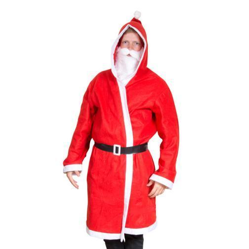 """Huvipuisto hermostui punanuttuiseen mieheen: """"Et voi pukeutua kuin joulupukki"""""""