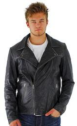 Nahkatakki Jack&Jones Rough leather jkt